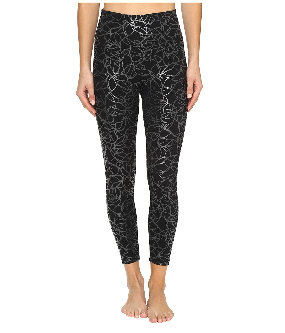 Yummie by Heather Thomson - Cotton Control Andy Skimmer (Black/Clear Print) Women's Casual Pants