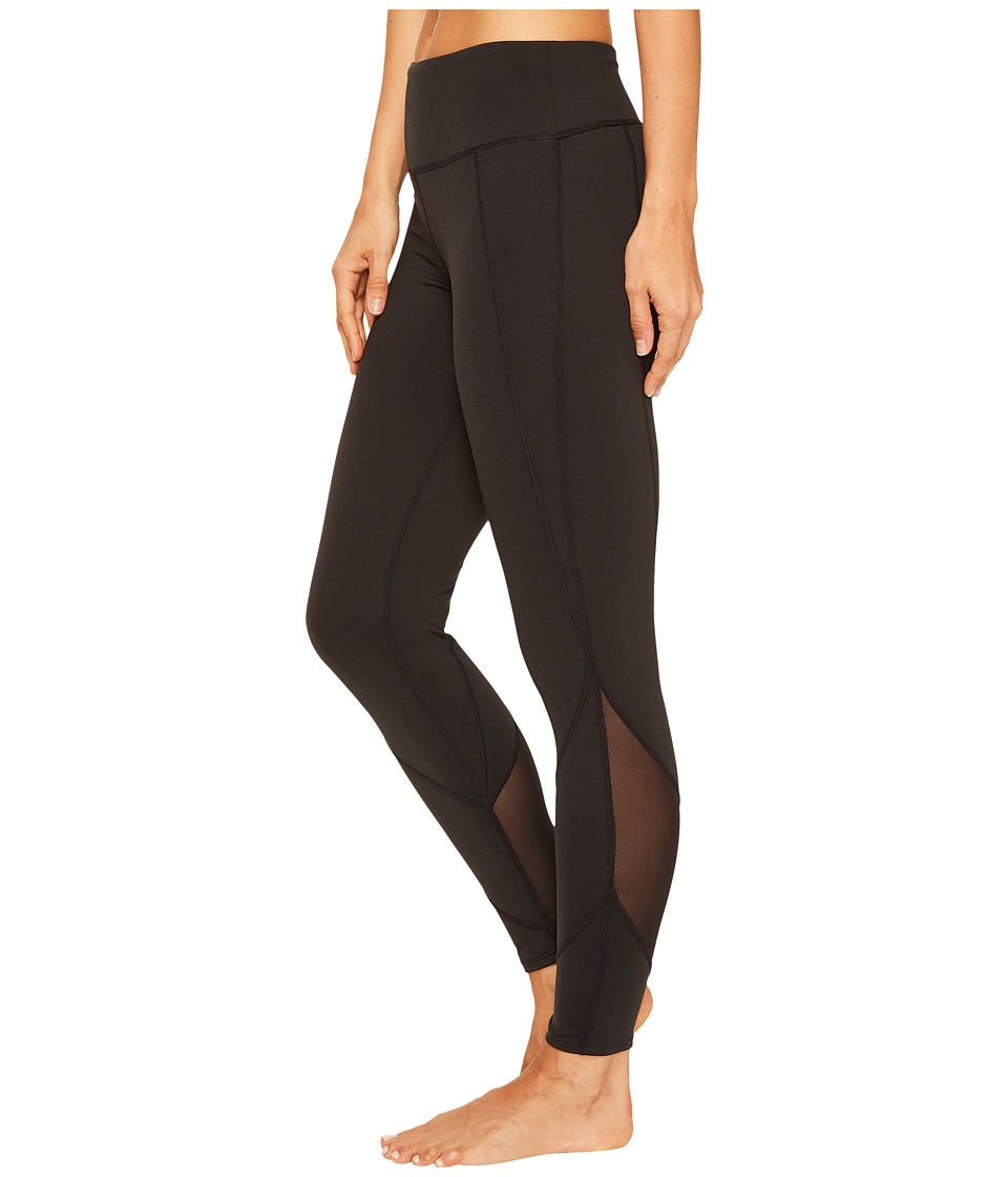 Yummie - Performance 3/4 Leggings (Black) Women's Casual Pants