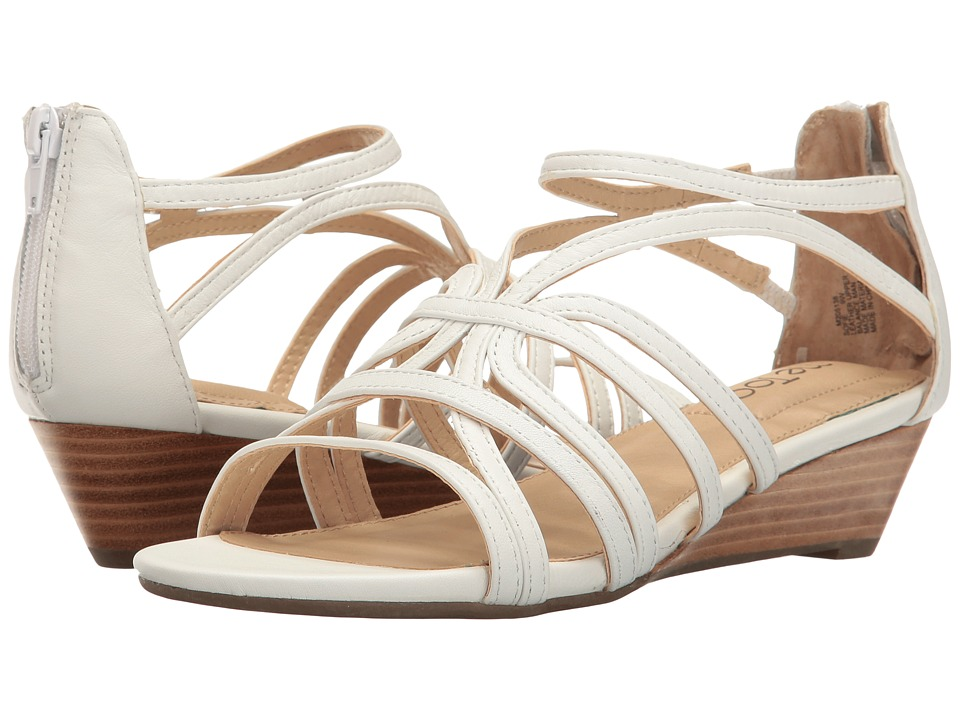 Me Too - Sofie (White) Women's Wedge Shoes