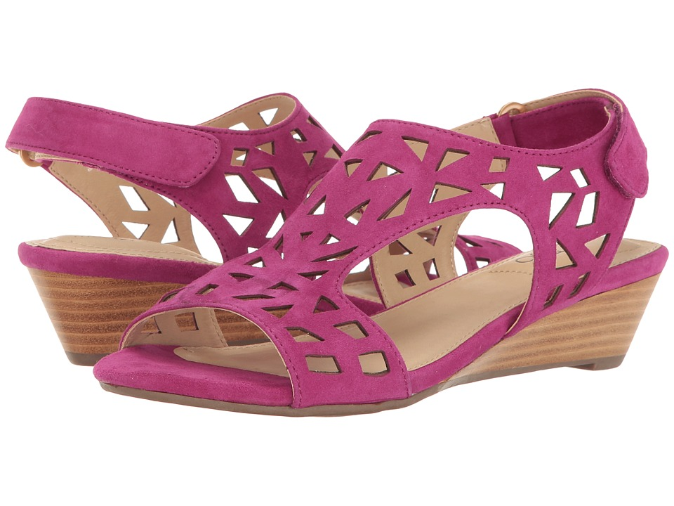 Me Too - Sienna (Fuchsia) Women's Wedge Shoes