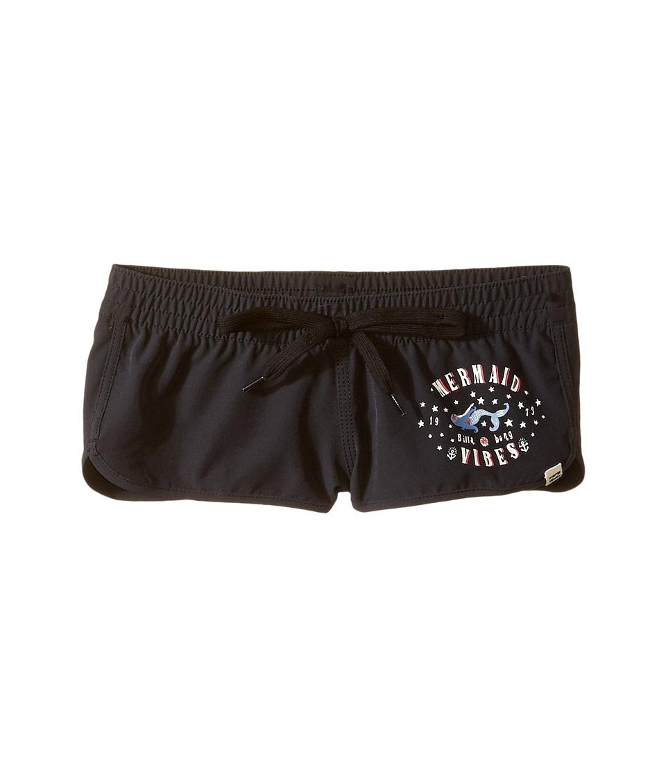 Billabong Kids Sol Searcher Volley Shorts (Little Kids/Big Kids) (Black Sands) Girl