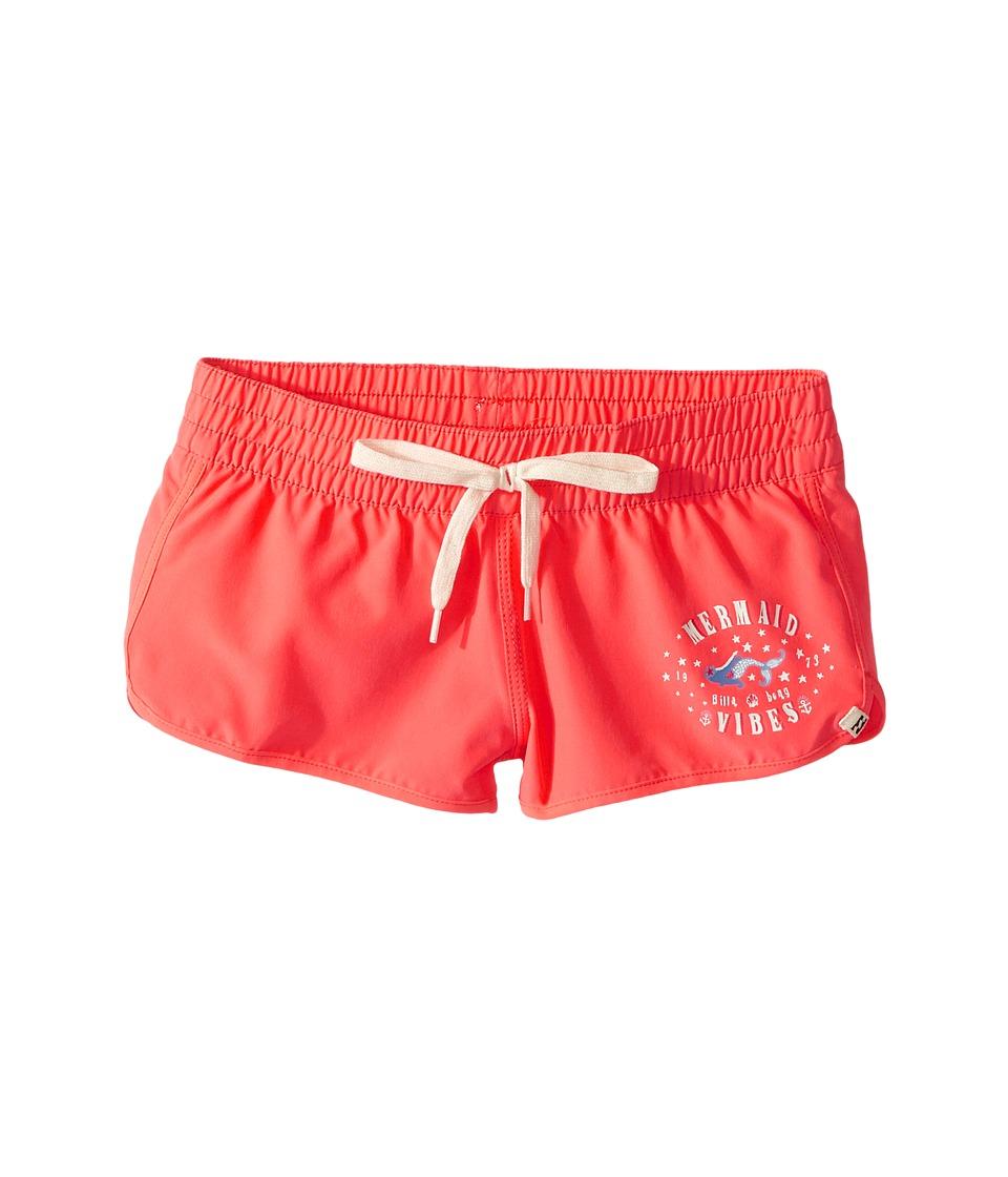 Billabong Kids Sol Searcher Volley Shorts (Little Kids/Big Kids) (Tropical Punch) Girl