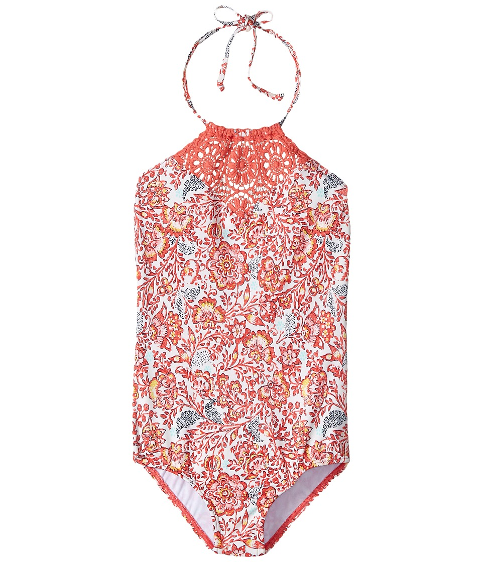 Billabong Kids - Sea Side One-Piece (Little Kids/Big Kids) (Multi) Girl's Swimsuits One Piece