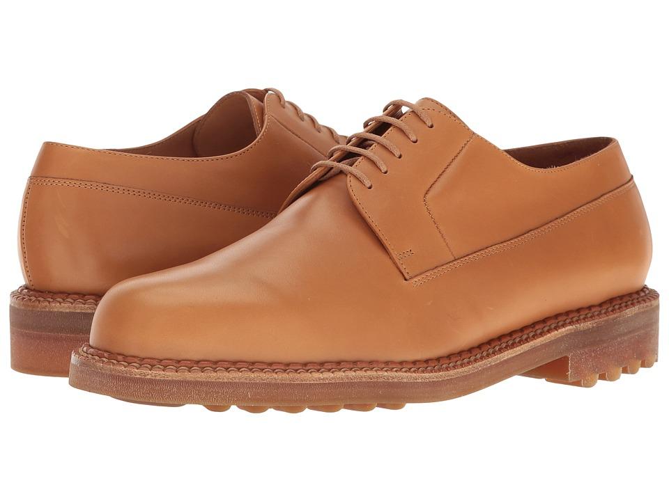 Robert Clergerie - Doc Oxford (Cognac) Men's Lace Up Wing Tip Shoes