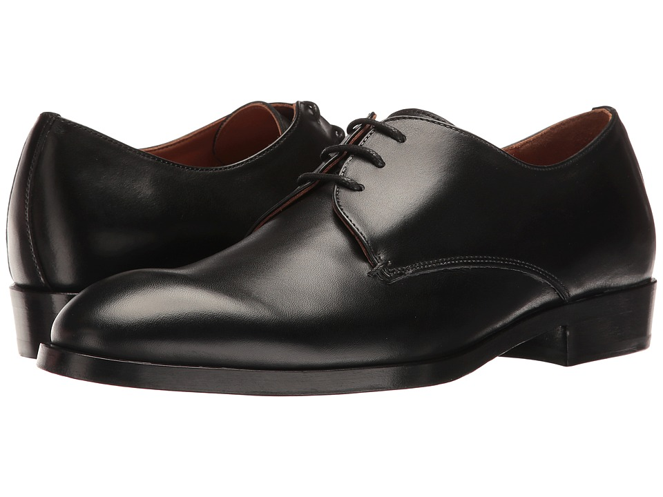 Robert Clergerie - Severin Oxford (Black) Men's Lace Up Wing Tip Shoes