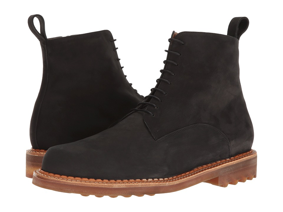 Robert Clergerie Dace Boot (Black Suede) Men