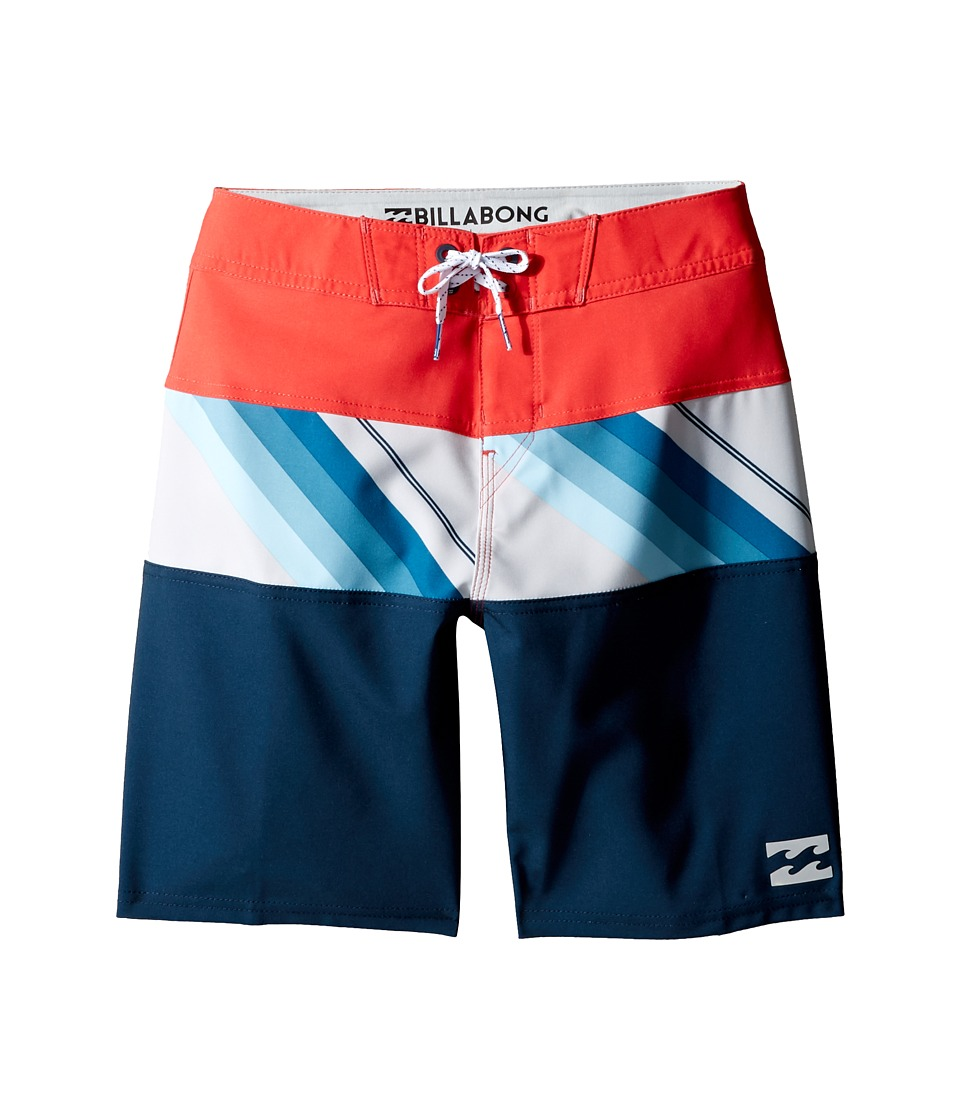 Billabong Kids Tribong X Boardshorts (Big Kids) (Cyan) Boy