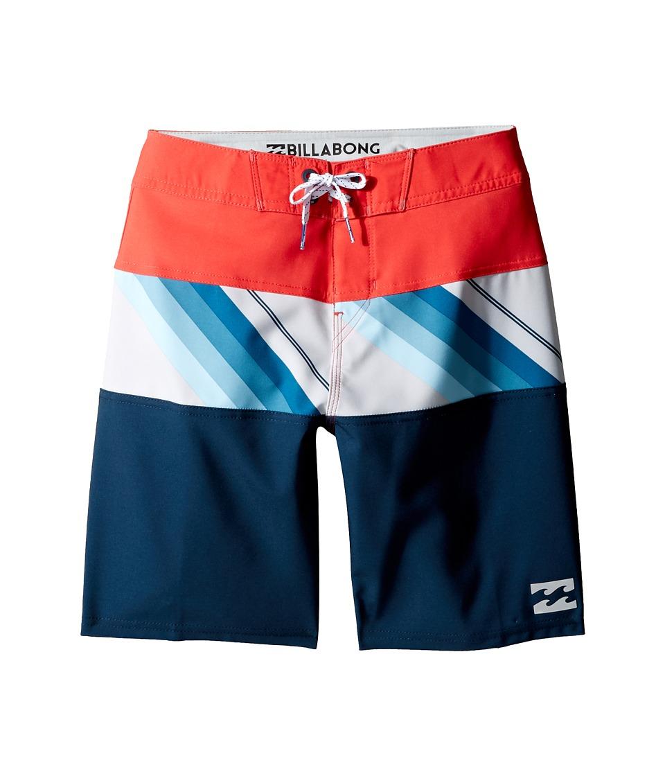 Billabong Kids - Tribong X Boardshorts (Big Kids) (Cyan) Boy's Swimwear