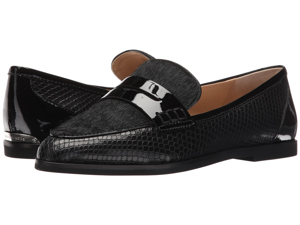 MICHAEL Michael Kors - Connor Loafer (Black) Women's Shoes