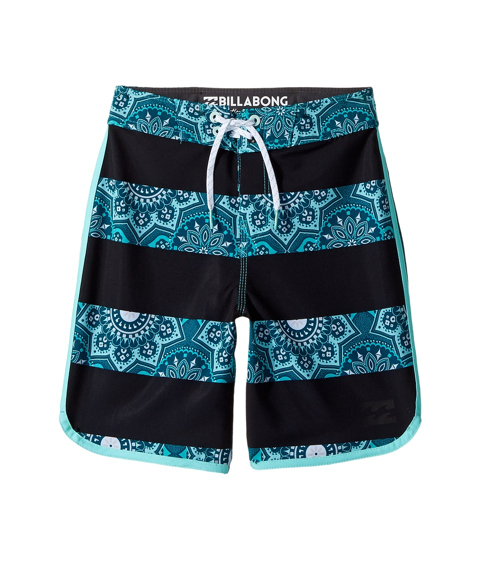 Billabong Kids - 73 X Lineup Boardshorts (Big Kids) (Ocean) Boy's Swimwear