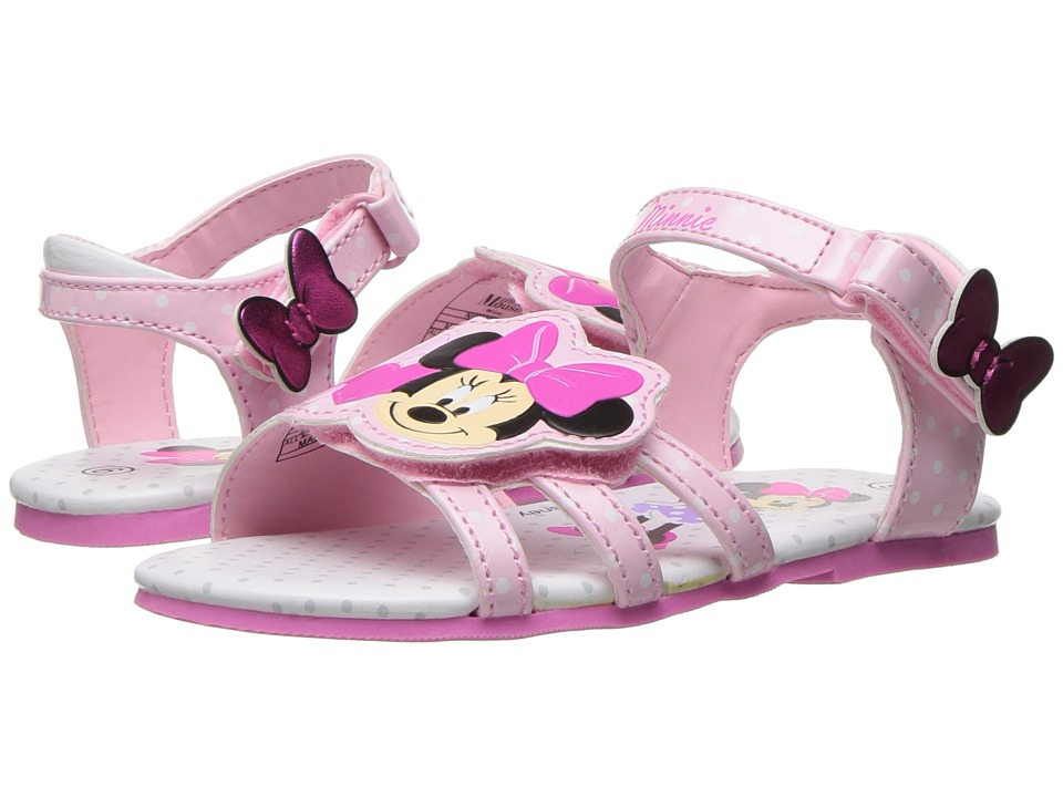 Josmo Kids Minnie Sandal (Toddler/Little Kid) (Pink) Girls Shoes