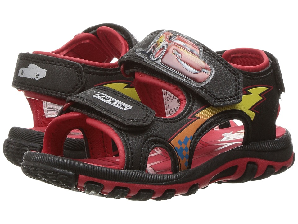 Josmo Kids - Cars Sandal (Toddler/Little Kid) (Black) Boys Shoes