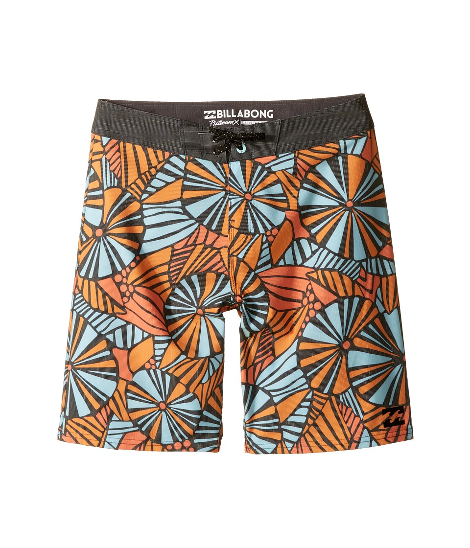 Billabong Kids Sundays X Boardshorts (Big Kids) (Coastal) Boy