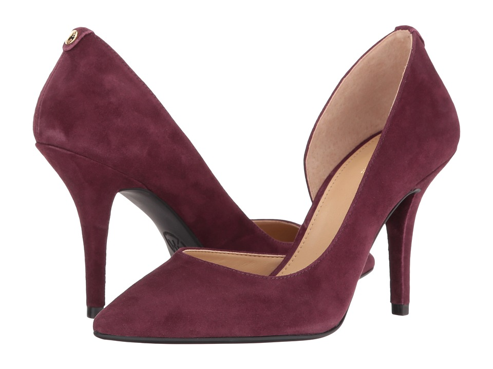 MICHAEL Michael Kors - Nathalie Flex High Pump (Plum) Women's Shoes