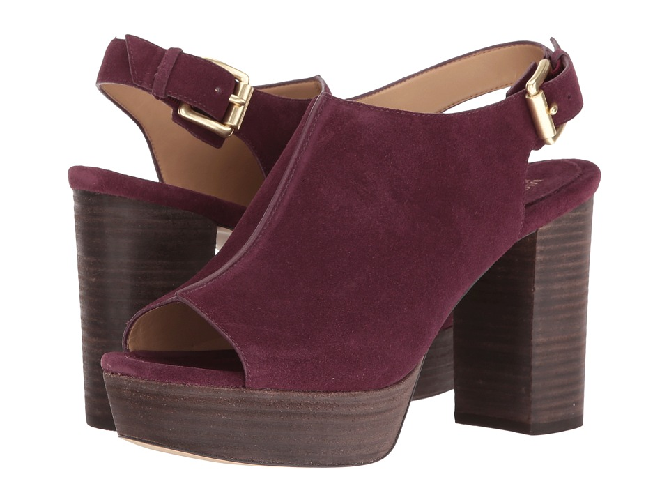 MICHAEL Michael Kors Piper Sling Plum Shoes
