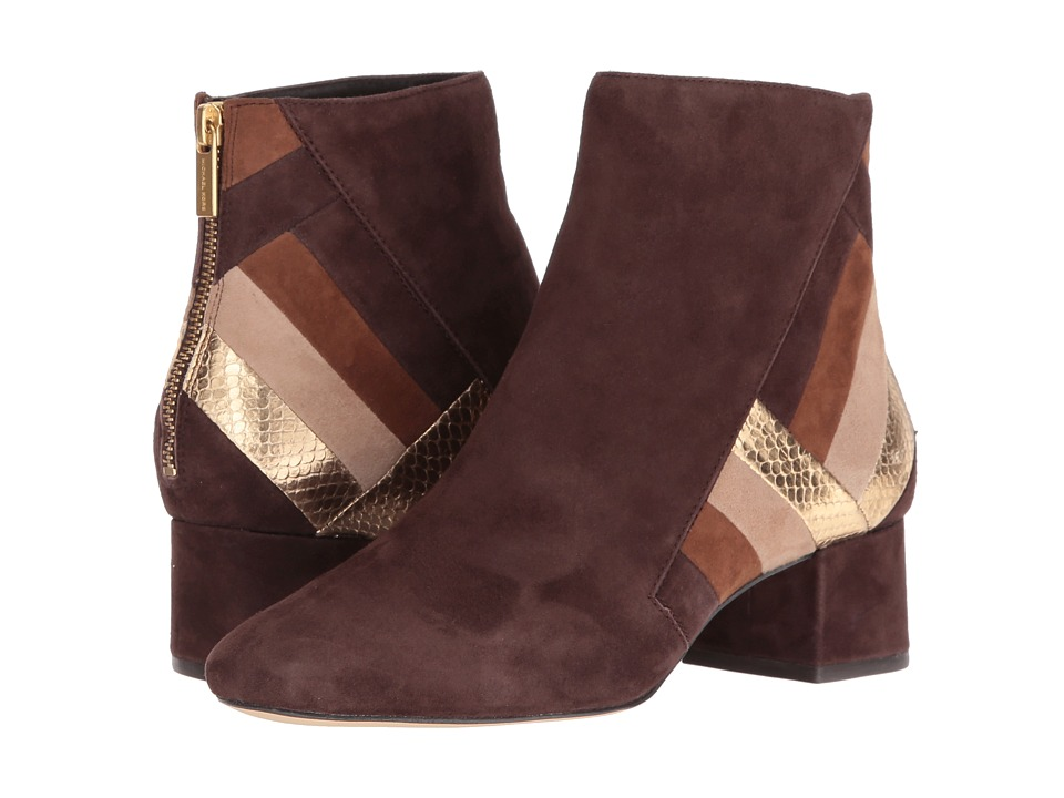 MICHAEL Michael Kors - Rosamond Mid Bootie (Coffee) Women's Boots