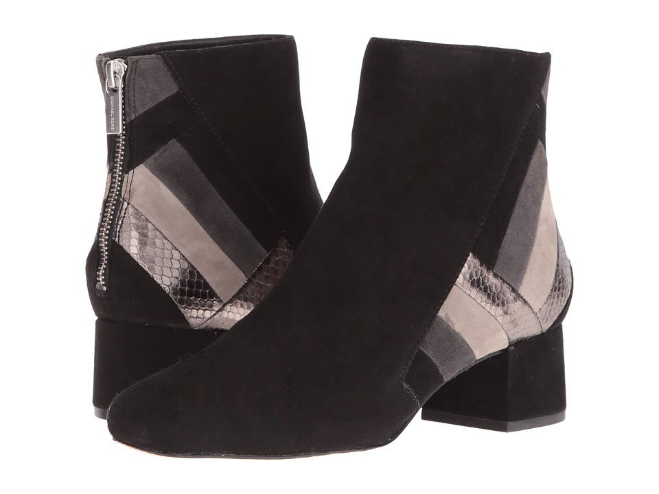 MICHAEL Michael Kors - Rosamond Mid Bootie (Black) Women's Boots