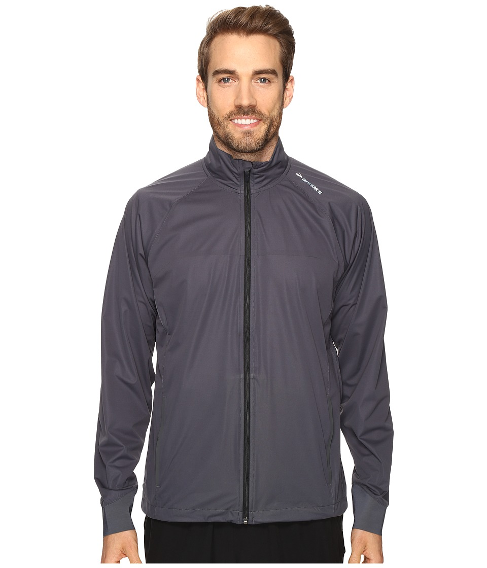 Brooks - Drift Shell (Asphalt) Men's Coat