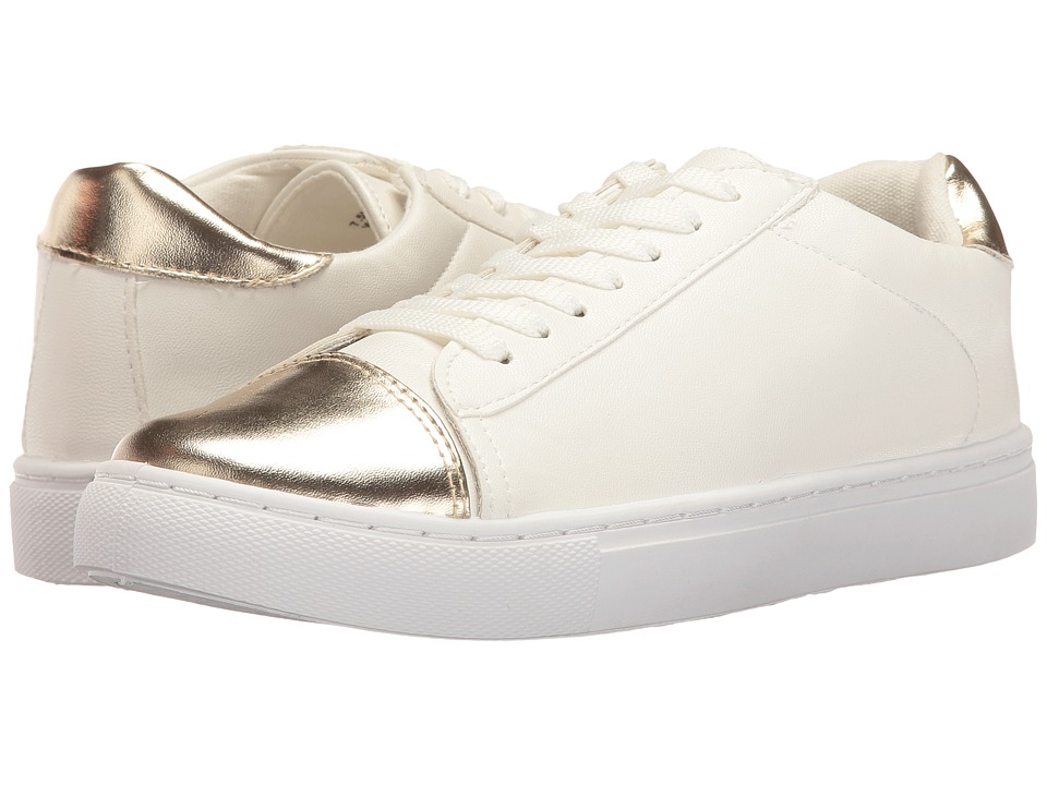 Esprit - Wave-ES (White/Soft Gold) Women's Shoes