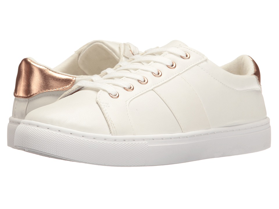 Esprit - Storm-ES (White/Rose Gold) Women's Shoes