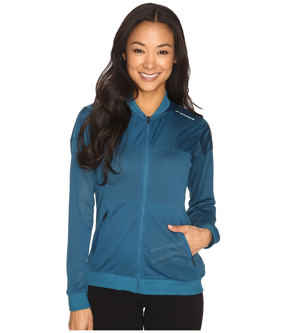Brooks - Run-Thru Jacket (River) Women's Coat