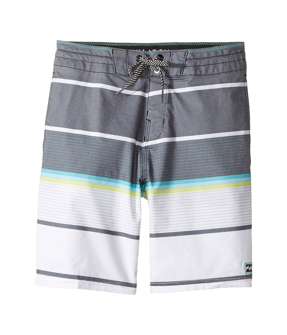 Billabong Kids Spinner LT Boardshorts (Big Kids) (Black) Boy