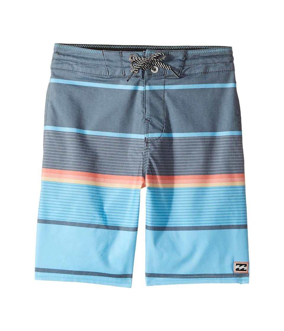 Billabong Kids - Spinner LT Boardshorts (Big Kids) (Blue) Boy's Swimwear