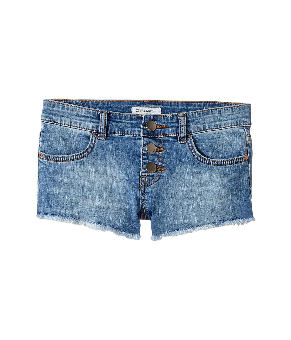 Billabong Kids - Buttoned Up Shorts (Little Kids/Big Kids) (Ocean) Girl's Shorts