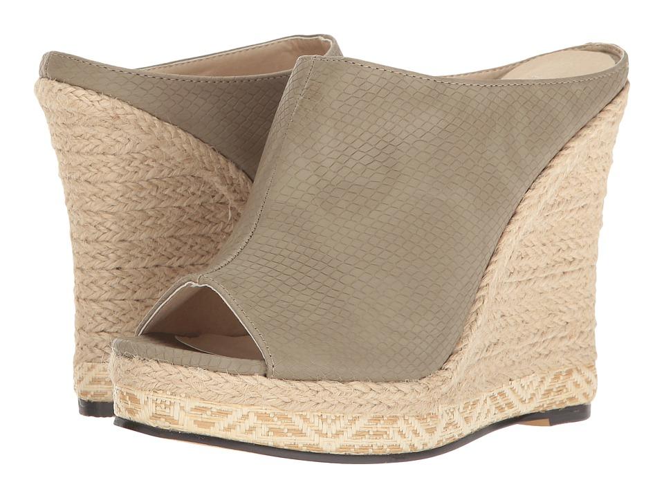 Michael Antonio - Georgia - Reptile (Grey Embossed Reptile) Women's Wedge Shoes