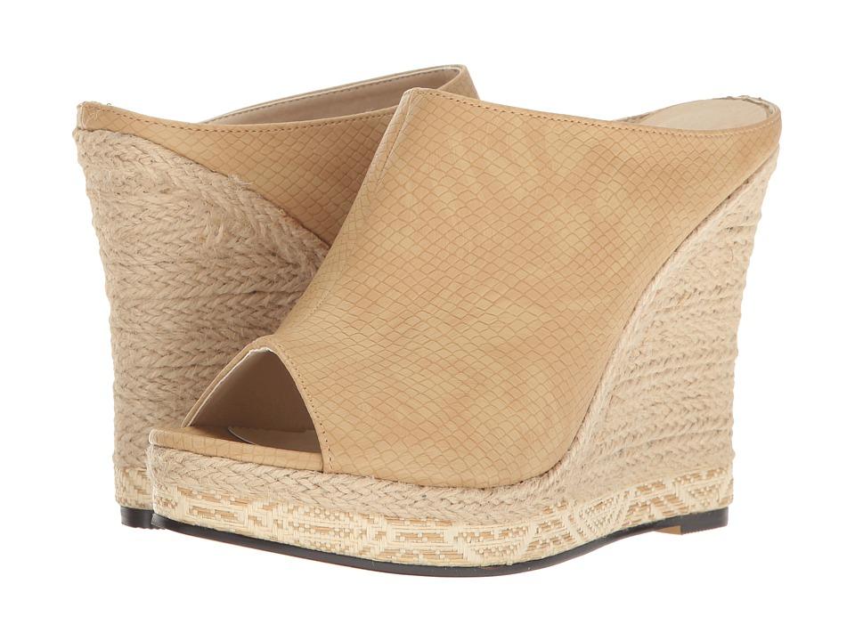 Michael Antonio - Georgia - Reptile (Natural Embossed Reptile) Women's Wedge Shoes