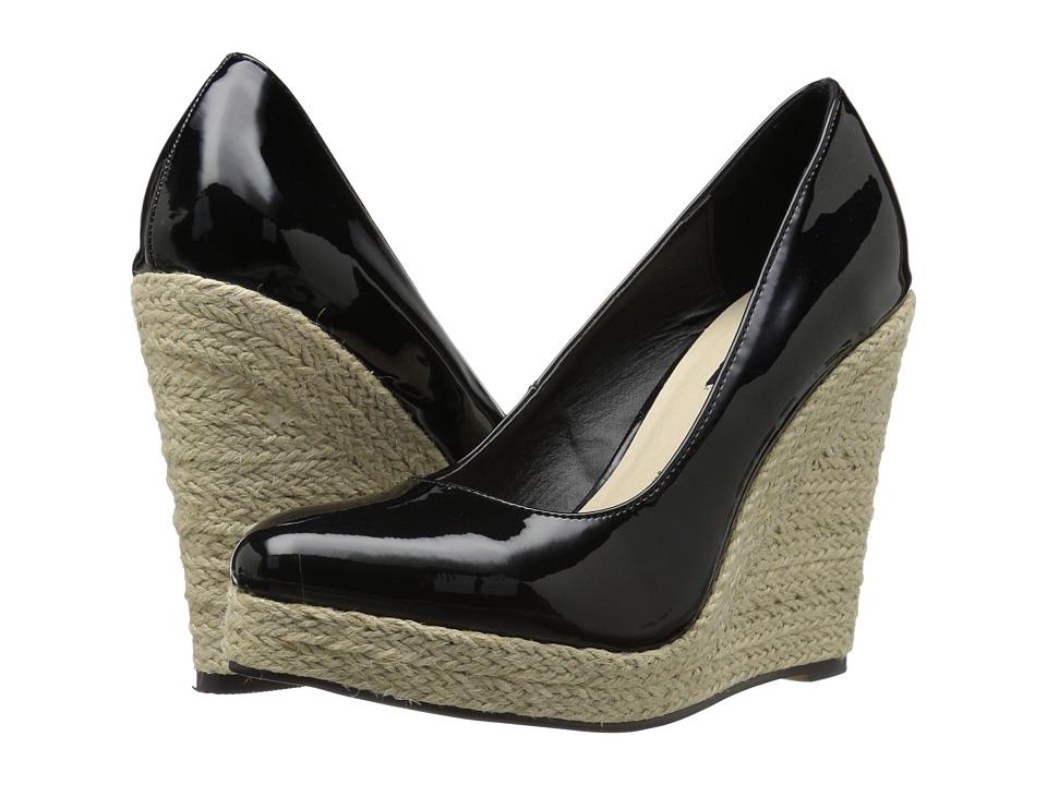 Michael Antonio - Anabel - Patent (Black Patent) Women's Wedge Shoes