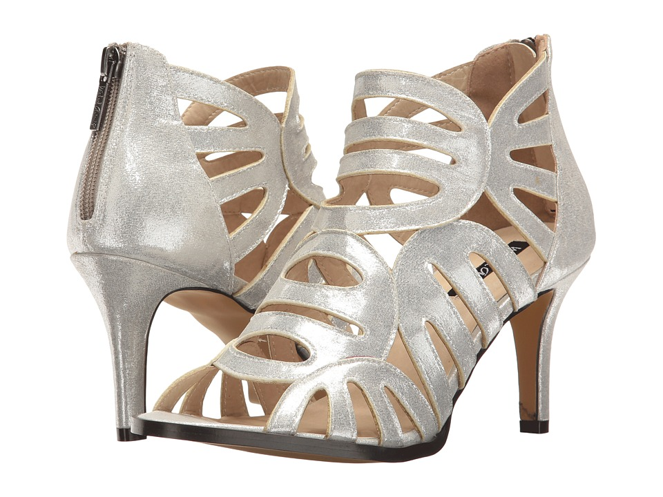 Michael Antonio - Lush - Metallic (Silver Metallic PU) Women's Shoes