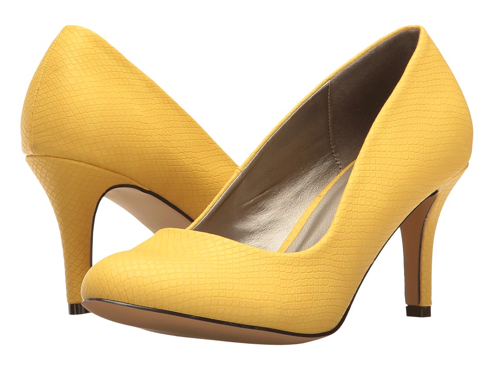 Michael Antonio - Finnea - Reptile (Yellow Embossed Reptile) High Heels