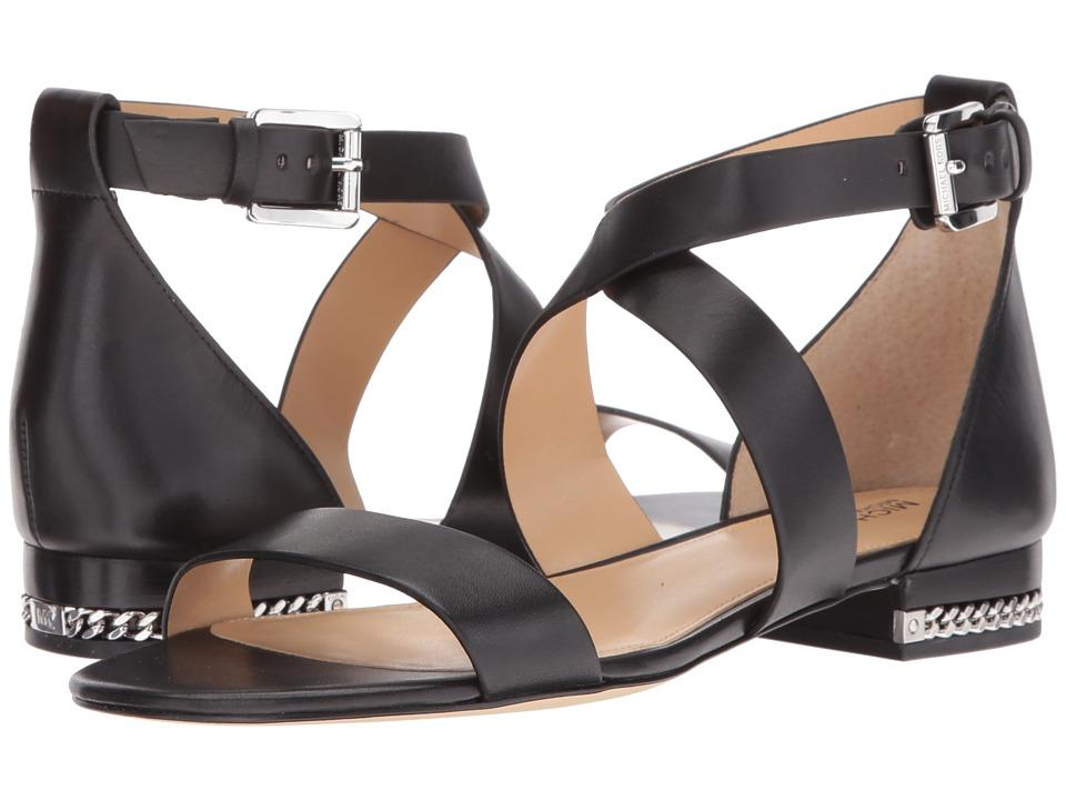 MICHAEL Michael Kors - Sabrina Sandal (Black) Women's Sandals
