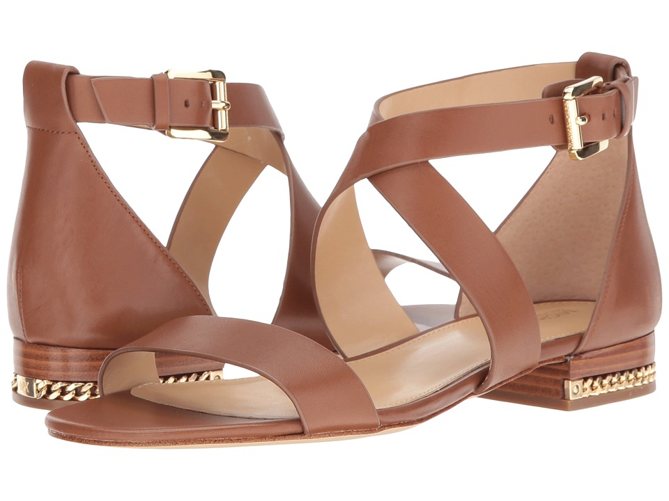 MICHAEL Michael Kors - Sabrina Sandal (Luggage) Women's Sandals