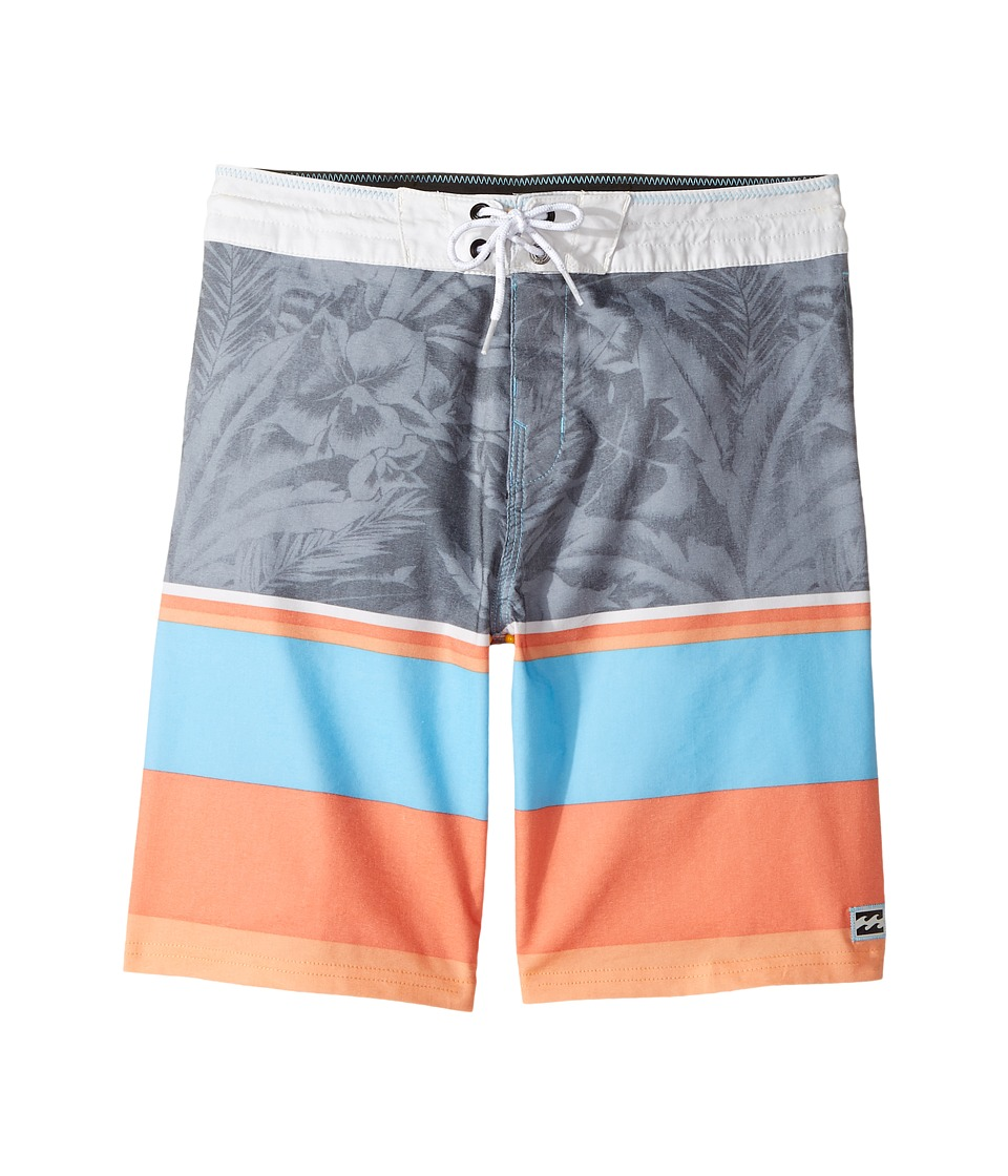 Billabong Kids Spinner LT Print Boardshorts (Big Kids) (Coastal) Boy