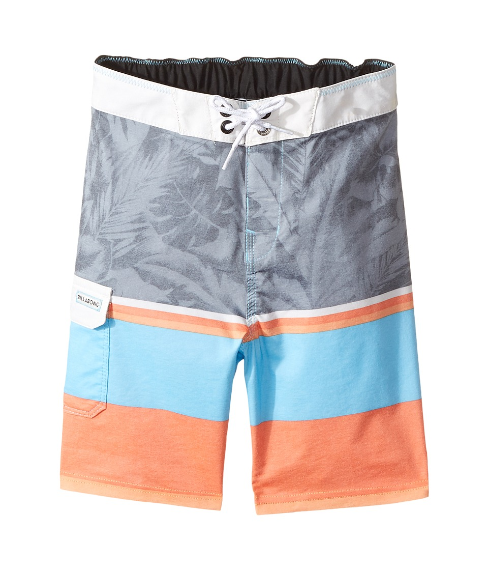 Billabong Kids Spinner LT Print (Toddler/Little Kids) (Coastal) Boy