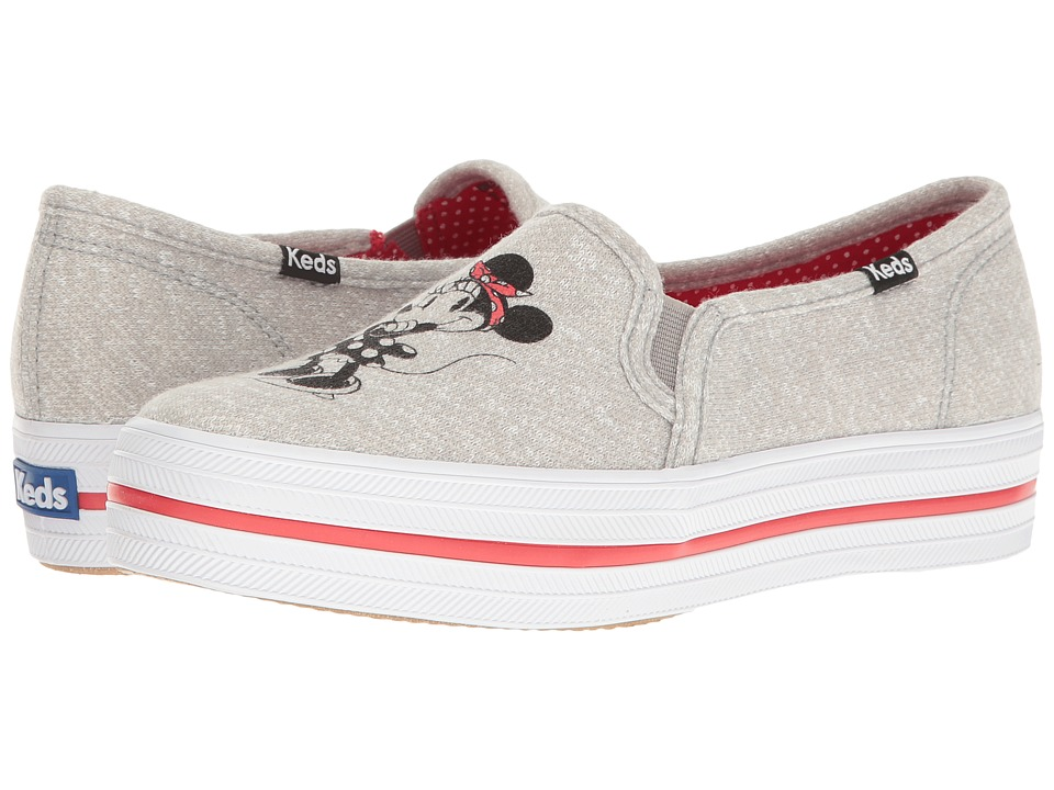 Keds Triple Decker Minnie (Gray) Women
