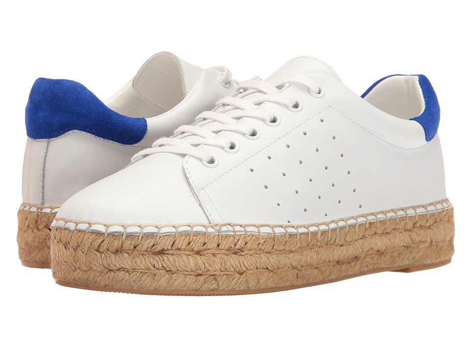 Marc Fisher LTD - Mandi (White/Blue/White Homerun) Women's Shoes