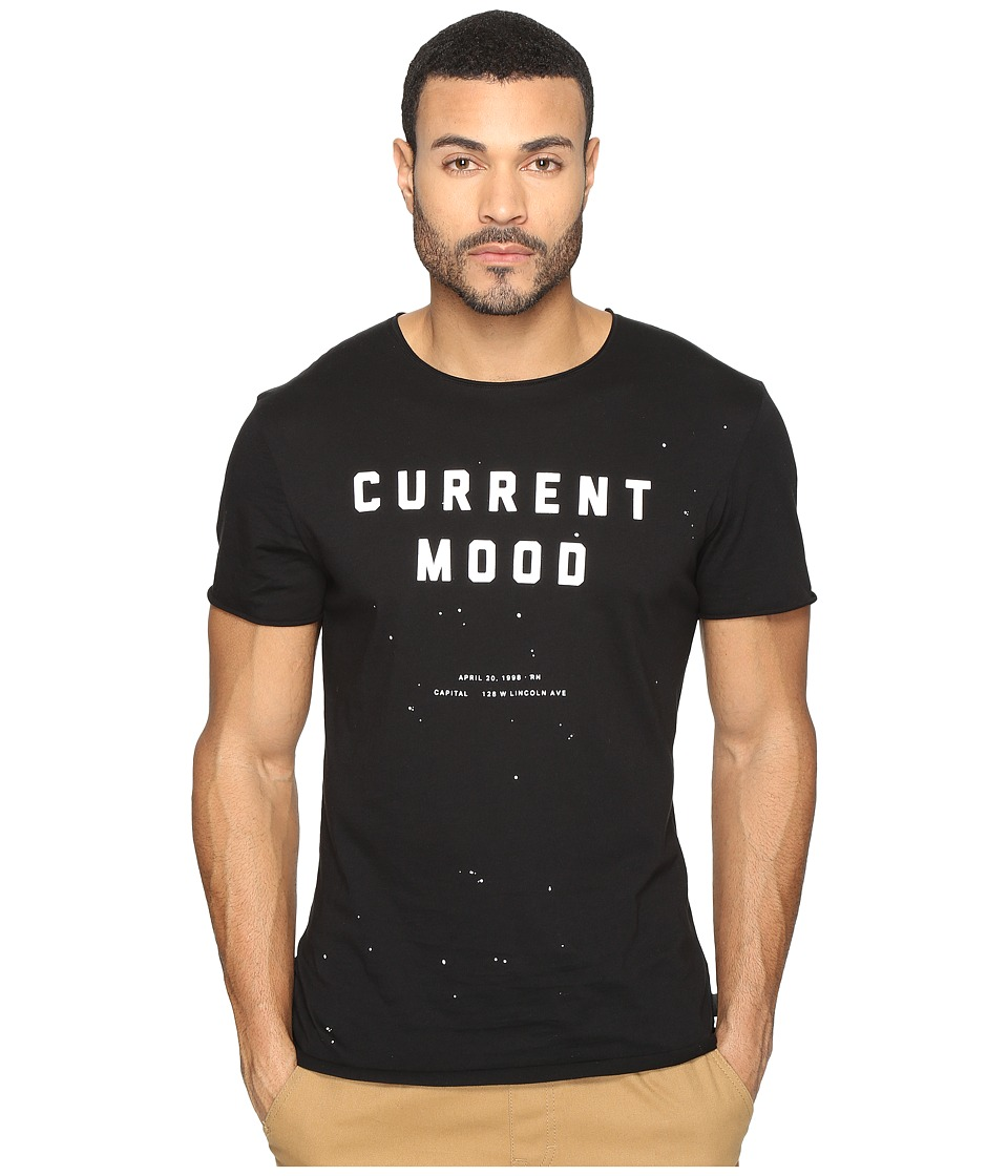 nANA jUDY - Current Mood Tee (Black) Men's T Shirt