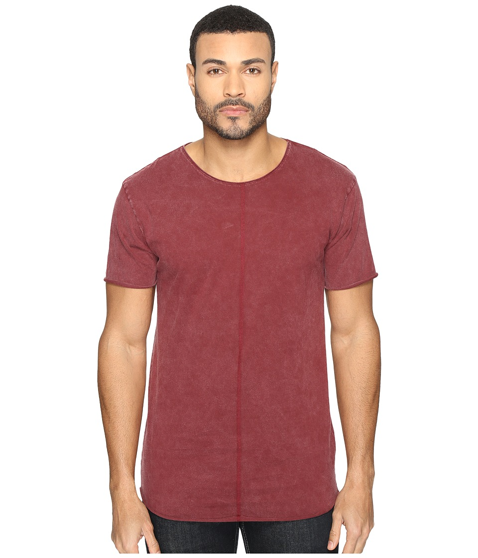 nANA jUDY - Buffalo Tee (Acid Burgundy) Men's T Shirt