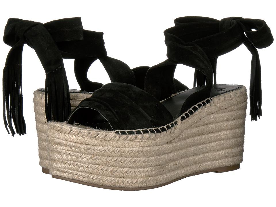 Marc Fisher LTD - Rabecca (Black Kid Suede) Women's Shoes