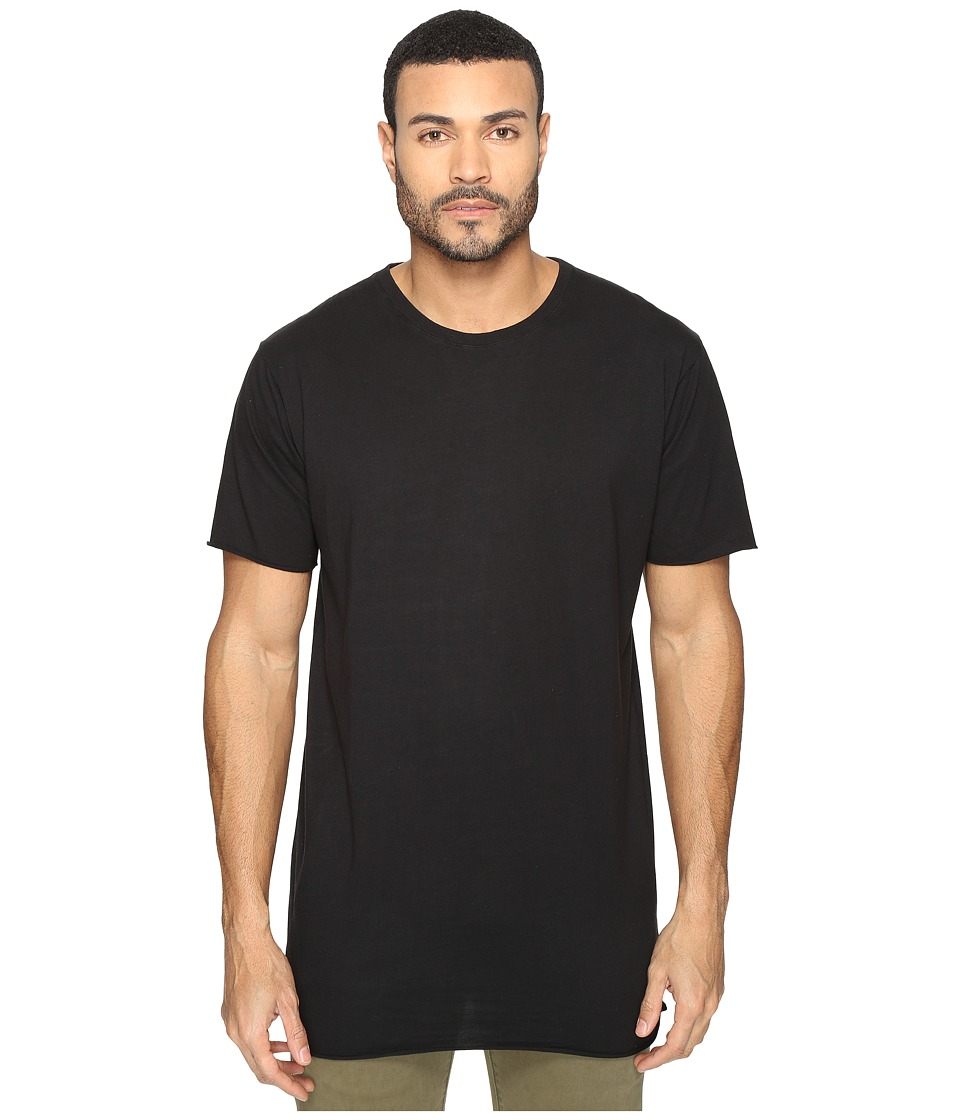 nANA jUDY - Basic Tall Tee (Black) Men's T Shirt