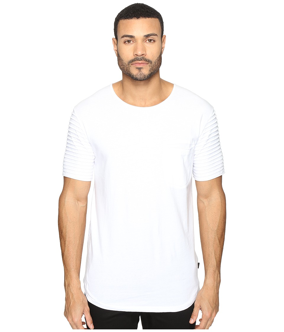 nANA jUDY - Badlands Tee (White) Men's T Shirt