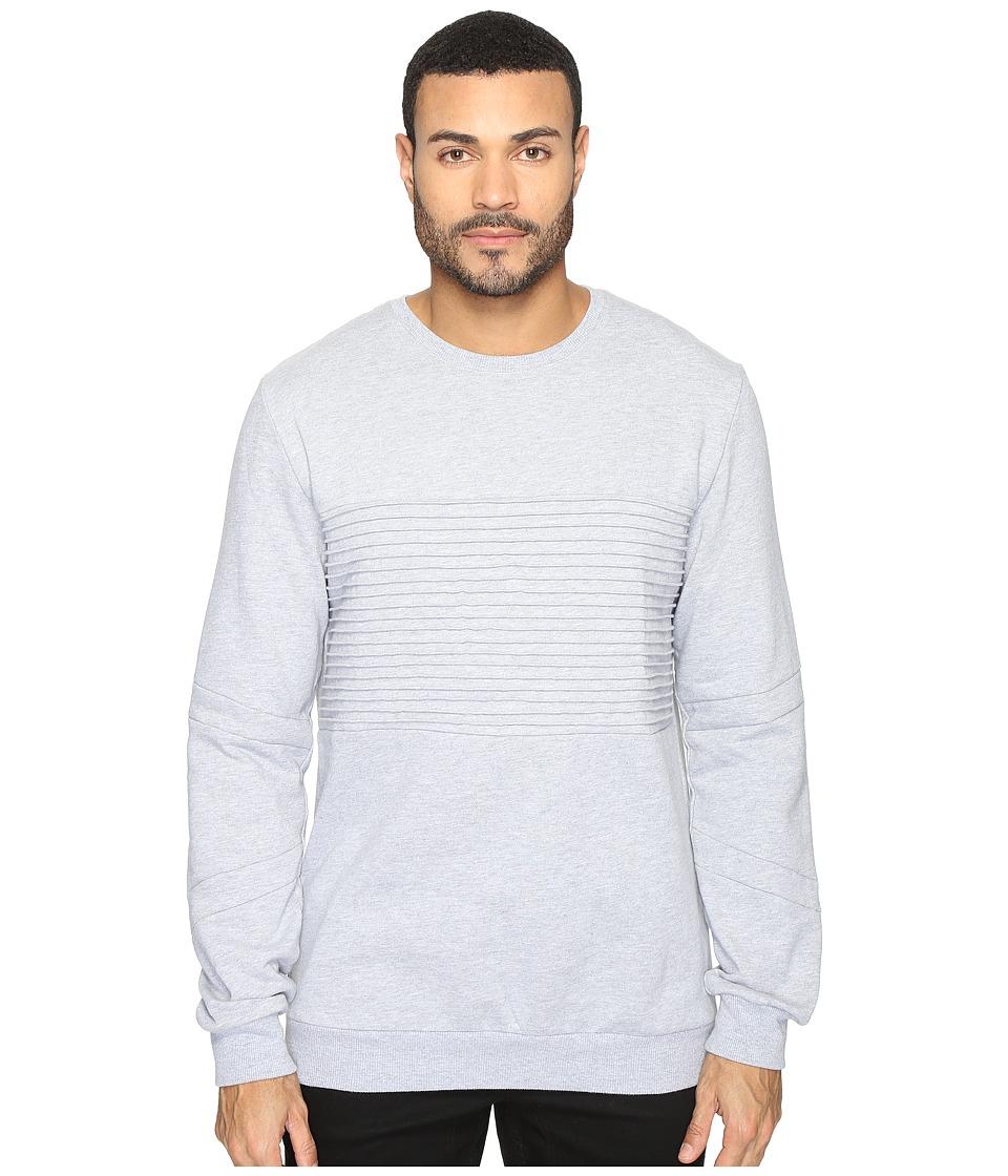 nANA jUDY - Carter Fleece Sweater (Grey Marl) Men's Sweater