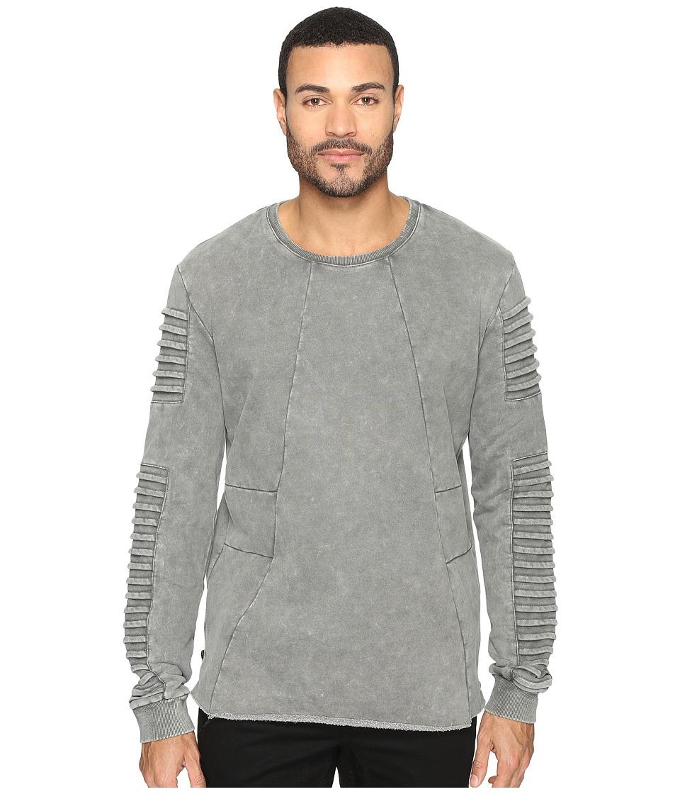 nANA jUDY - Yosemite Fleece Sweater (Acid Grey) Men's Sweater