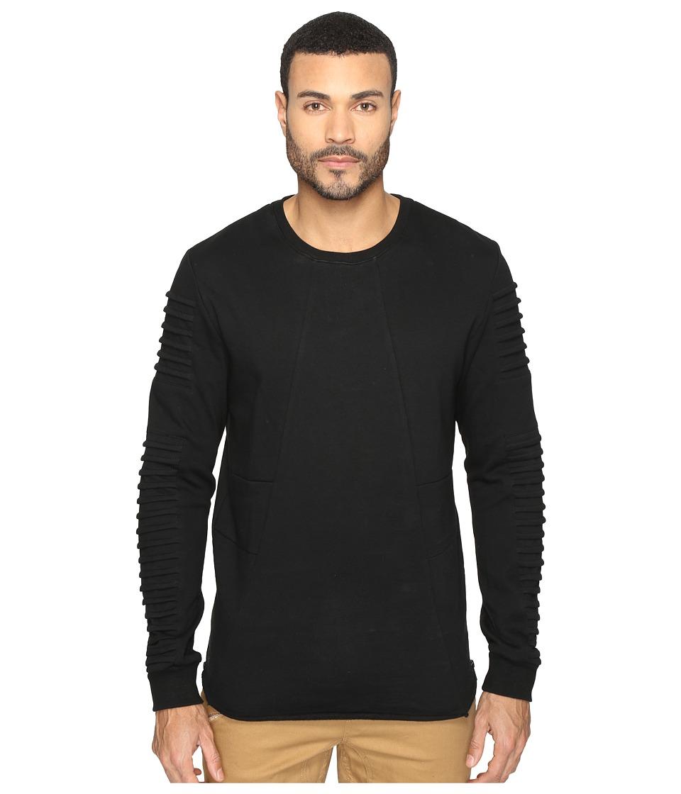 nANA jUDY - Yosemite Fleece Sweater (Black) Men's Sweater