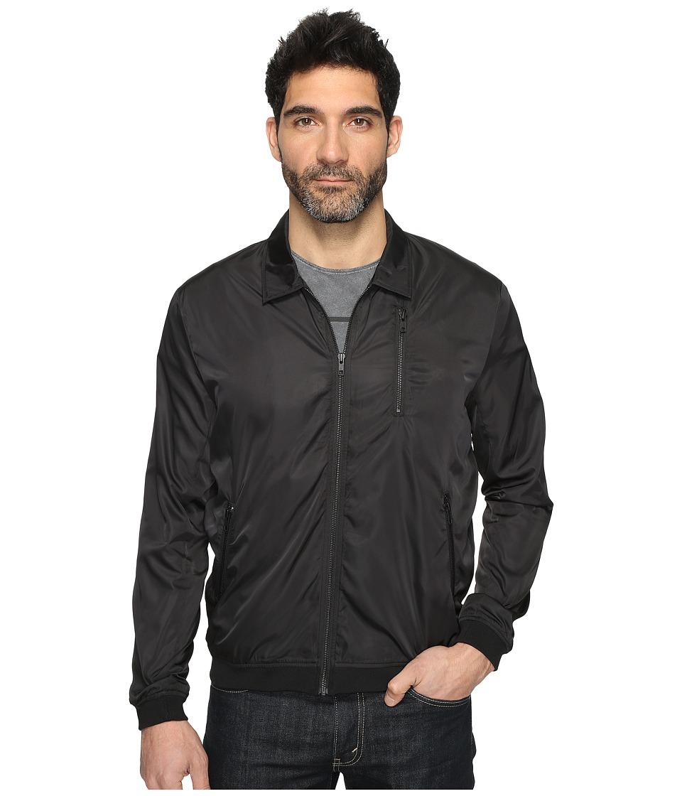 nANA jUDY - Kingfisher Spray Jacket (Black) Men's Coat