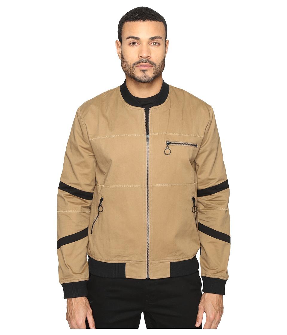 nANA jUDY - Zion Bomber Jacket (Sand) Men's Coat