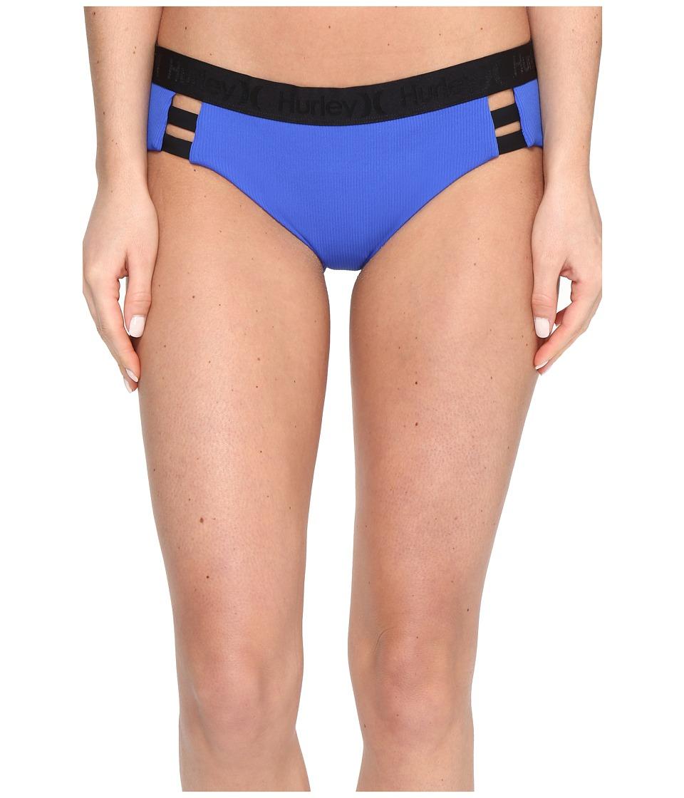 Hurley - Quick Dry Boy Bottoms (Racer Blue) Women's Swimwear